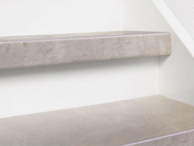 Dichte trap 12mm HPL CPL Laminaat Licht beton 2