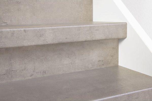 Dichte trap 12mm HPL CPL Laminaat Licht beton